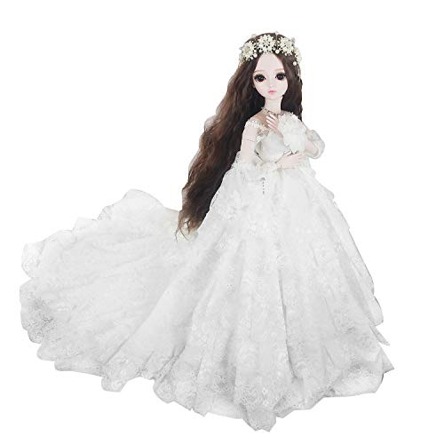 Wedding 1/3 60cm White SD Doll 24