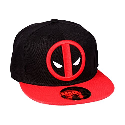 tte Snapback Deadpool-Legend Icon Visor, schwarz, One Size ()