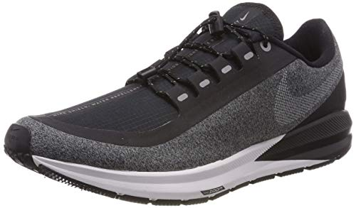 Nike Air Zoom Structure 22 Shield Water-Repellent black//cool grey/vast grey/metallic silver