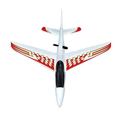Dilwe Juguete de Avión de Planeador Eléctrico, Avión de Bricolaje Espuma de EPP Mano Lanzando Avión Modelo de ala Fija de Juguete el Regalo para Niños