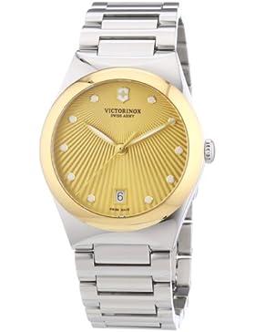Victorinox Swiss Army Damen-Armbanduhr XS Victoria Analog Quarz Edelstahl 241633