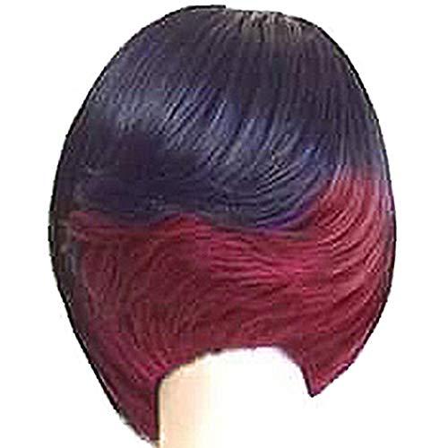 Fleurapance - Peluca de pelo corto y súper natural...