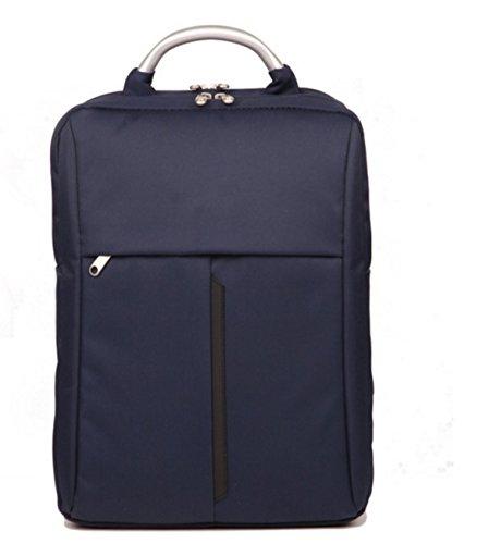 BULAGE Schulterbeutel Der Männer Laptoptasche Rucksackgeschäft Schultern Handtasche Kursteilnehmer Männer Jungen Heraus Reisen Blue