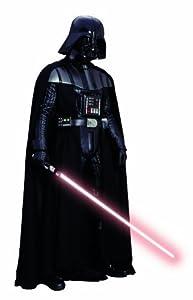 ABYstyle ABYDCO031 - Adhesivo Decorativo de Vinilo para Pared, Figura de Darth Vader a tamaño Real (2 m) - Star Wars: Plancha Pared Dath Vader