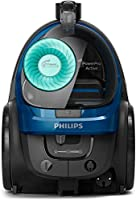 Philips Powerpro Active Powercyclone 7 Bagless Vacuum Cleaner, Black/Dark Royal Blue, 2000W, Fc9570/62