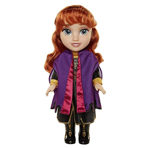Frozen 2 Anna Frozen II Muñeca, Toddler, Color Set (Jakks Pacific 202821)