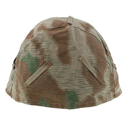 Homyl Taktische Jagd Camo Helm Abdeckung Outdoor-Ausrüstung Helmbezug für M35, M42, M40 Helm -