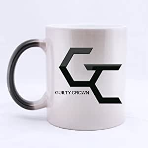 Guilty Crown Logo Customized Personalized Coffee Mug Novel Gift Mugs Morphing Ceramic Cup Water Office Home Cups 11 OZ Two Sides by ARGabriel