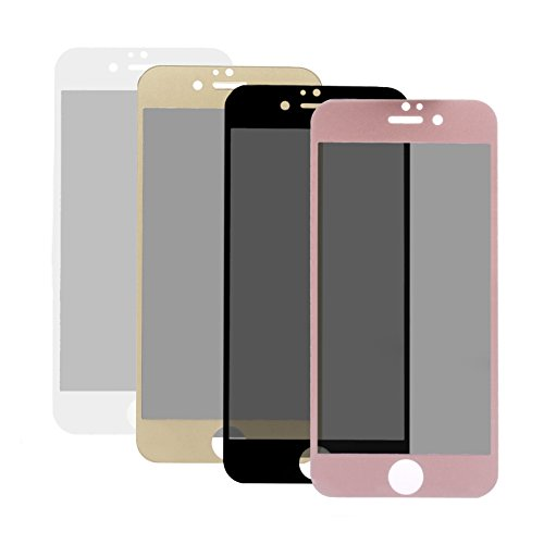 iCues |Apple iPhone 6S / 6 Custodia | Birds Eye Cover | oro | Case Bumper Tasca Borsa bianco
