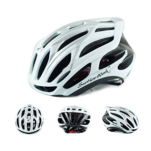 BLTX Specialized Fahrradhelm MTB Helm Mountainbike Helm Herren & Damen Schwarz Fahrrad Helm Integral 25 BelÜFtungskanäle (58-63 cm),1
