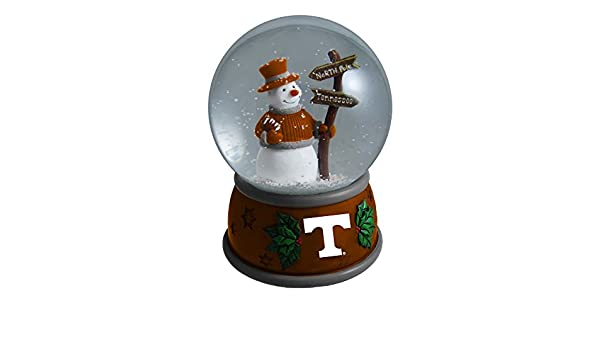 The Memory Company NCAA University of Tennessee Knoxville Christmas Snow Globe One Size Multicolor