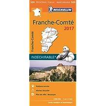 Carte Franche Comte Michelin 2017