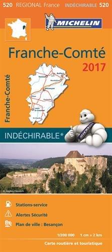 Descargar Libro Carte Franche Comte Michelin 2017 de Collectif Michelin