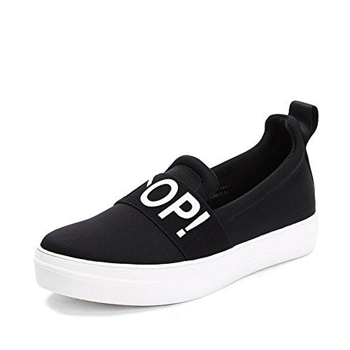 chaussures plate-forme Mme huile/A chaussures pédale de sport/Mocassins Bottomed A