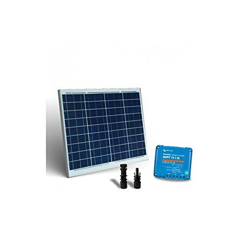 """Kit Solar Base2 50W Placa Solar 50W + Controlador de carga 10A - MPPT El """"Kit Base2 Solar"""" es ideal para la alimentación de cargas de bajo voltaje, tales como lámparas y otros dispositivos de 12V. Puede auto-producir energía y almacenarla en la bate..."""