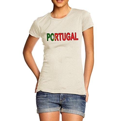 TWISTED ENVY Women's Portugal Flag Football T-Shirt
