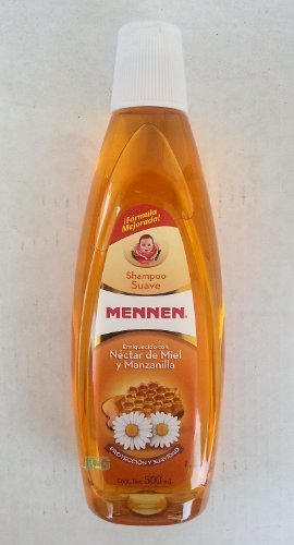 Gentle Shampoo by Mennen.. with Chamomile & Honey 16.9 oz.. (2 Pack).. amtc by Mennen