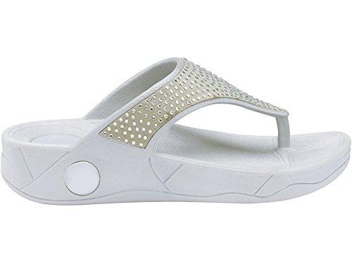 Foster Footwear - Sandali  da ragazza' donna Silver