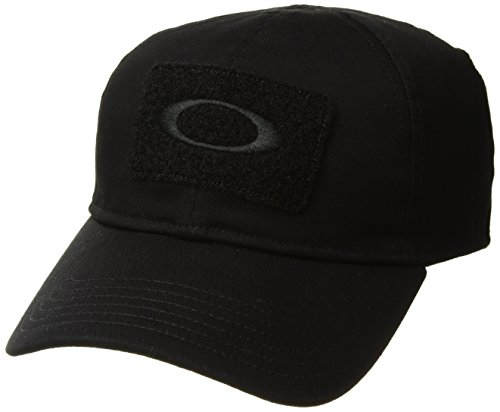 Oakley Men's Si Cotton Cap, Black, L/XL -