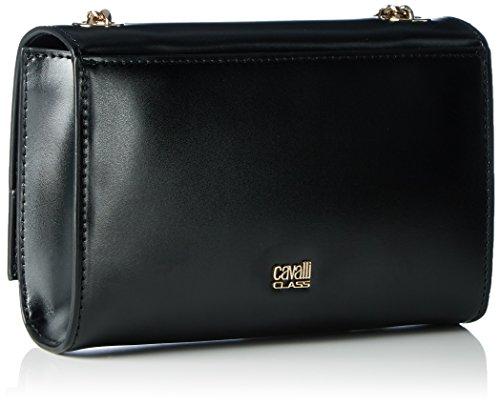 Cavalli Rsvp Panther 001, sac bandoulière Schwarz (Schwarz (Black))