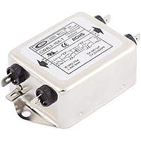Línea de ruido CW4L2-10A-T de alimentación monofásica Filtros EMI AC 115 / 250V 10A