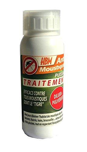 HBM Anti-Moustiques 001-DS-RAC013 Traitement Pulvérisation Anti-Moustique 500 ml