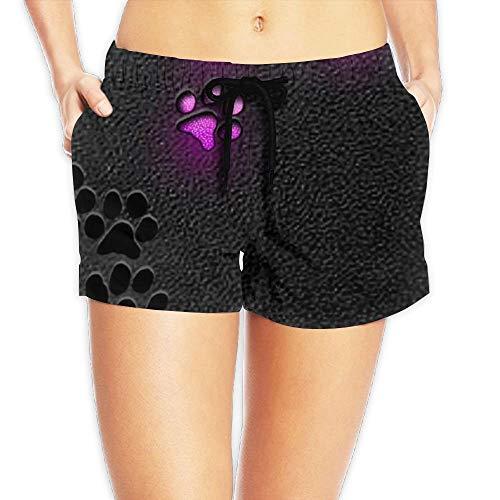 tic Lounge Shorts Glowing Palmprint Beach Shorts XX-Large ()