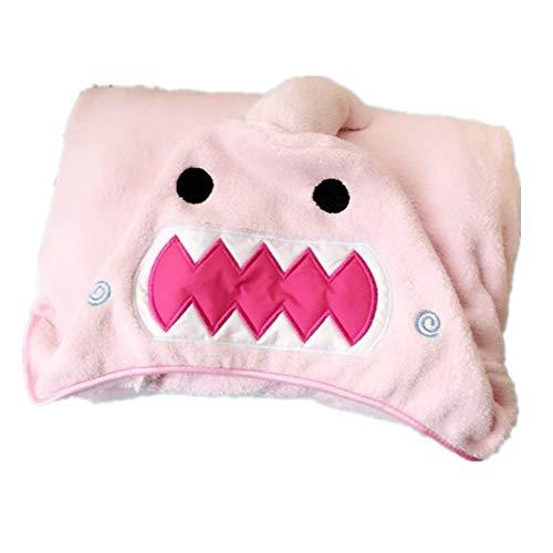"""Encounter G Übergroßes Kinder Handtuch mit Hut Tierdecke 29\""""X 49\"""" Kapuzenhandtuch Erwachsenen Baby Badetuch Geschenk Eltern-Kind-Anzug Junge oder Mädchen,Pink,Adult(90 * 145cm)"""