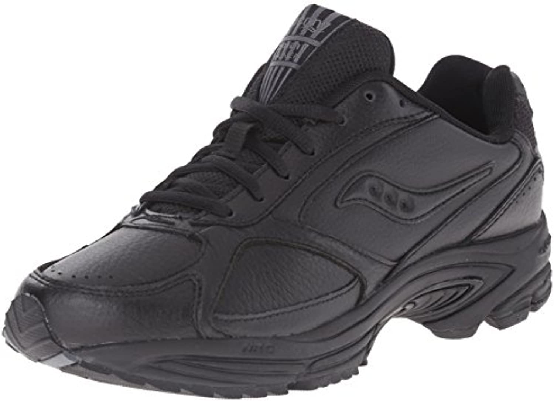 Saucony hombres Grid Omni Walking zapatos,negro,8 M
