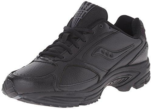 Saucony Herren Grid Omni Walking Schuhe,Schwarz,8 M (Omni-8-schuh)