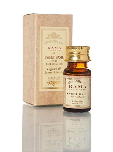 Kama Ayurveda Sweet Basil Pure Essential Oil, 12ml