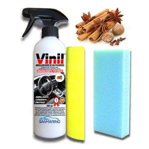 sanmarino-abrillantador-salpicaderos-efecto-coche-nuevo-con-pistola-500-ml-bayeta-esponja-aroma-vain