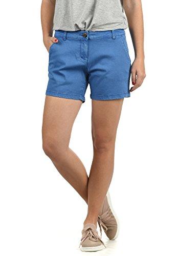 DESIRES Kathy Damen Chino Shorts Bermuda Kurze Hose aus Stretch-Material Skinny Fit, Größe:42, Farbe:Palace Blu (5612)
