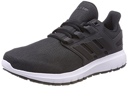 adidas Herren Energy Cloud 2 Laufschuhe, Schwarz (Core Black/Core Black/Carbon 0), 42 2/3 EU (Action-sport-schuhe Herren)