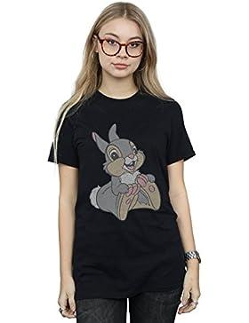 Disney Mujer Classic Thumper Camiseta del Novio Fit