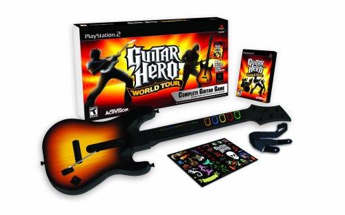 Guitar Hero: World Tour - Guitar Bundle (PS2) [Importación Inglesa]