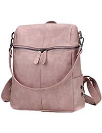 AOWEI EC Donna zaino in pelle borse a zainetto viaggio vintage eleganti  zainetti ecopelle ragazza ufficio 197c116e39c