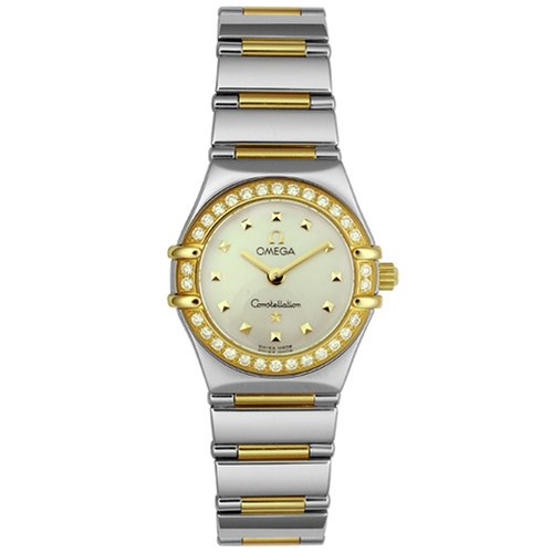 Omega da Donna 1365.71.00costellazione mia scelta diamante mini orologio - Omega Bracciali D'oro