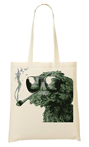 ToteWorld Cool High Cookie Monster Tragetasche Einkaufstasche