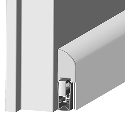 Athmer Schall-Ex L-15 FS silber 1055 mm Türdichtung zum Aufschrauben Nr. 1-884