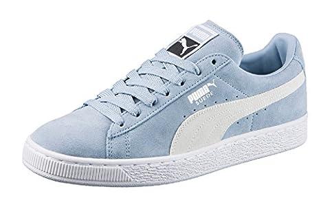 Puma Suede Classic +, Sneakers Basses Mixte Adulte, Bleu (Blue Fog-Puma White 06), 37 EU