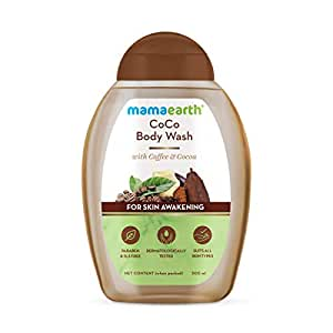 Mamaearth CoCo Body Wash With Coffee & Cocoa, Shower Gel For Skin Awakening – 300 ml