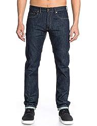 Quiksilver - Jeans - Uni - Homme Bleu Rinse