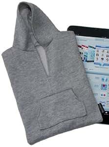 Luckies of London Hoodie Tablet Sleeve, Grey
