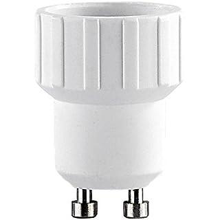 Aistuo Lampensockel-Adapter Adapter GU10 auf E14 (4er-Set)