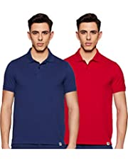 Amazon Brand - Symbol Men's Plain Regular Fit Polo