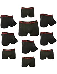 Pack de 4 ou 10 COOL24 Boxers en microfibre sans couture - Homme