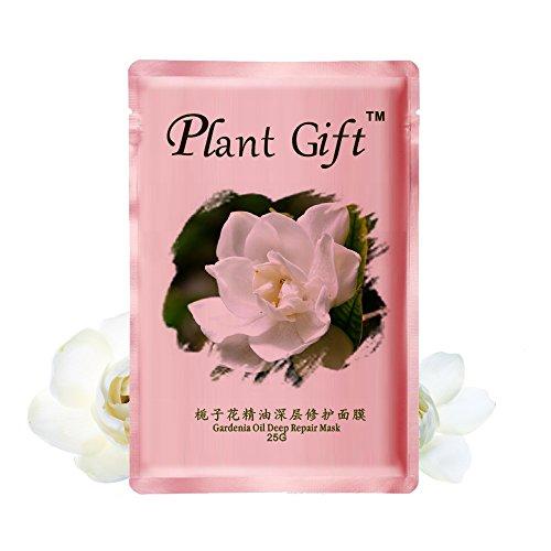 Lavendel Und Gardenia (Plant Gift- Gardenia Oil Deep Repair mask-,Improve dull, inhibit melanin, Qin Run bright and colorful, lasting bright white-25g/0.88oz)