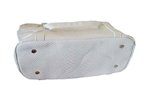 Ebay Fiable La Venta En Línea delle donne borsa a tracolla bianca vitorian motivo floreale / cross borsa corpo / zainetti / Top-maniglie bianco Salida De Línea ELW78G93