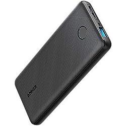 Anker PowerCore Slim 10000 Batterie Externe Fine avec la Technologie de Charge Rapide PowerIQ, conçue pour Tenir dans la Poche - Powerbank pour iPhone, Samsung Galaxy et Autres